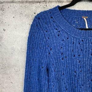 Free People Sweaters - Free People // Eyelet Knit Sweater